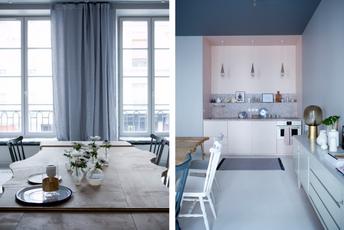 Спој на скандинавски минимализам и француски шик  Најубавиот стан во Париз кој воодушевува со ентериерот