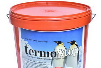 Термостоп термоизолација   За топли простории во зима  а ладни во лето  За заштеда на енергија и до 50