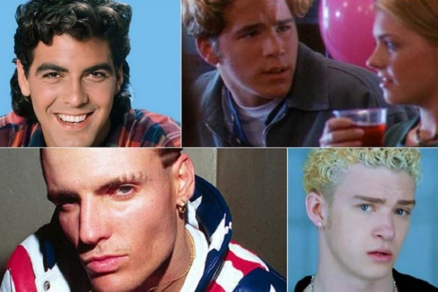 А  беа толку  ин   Овие фризури славните мажи би сакале засекогаш да ги заборават