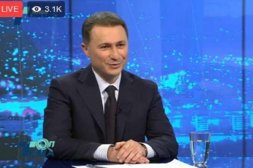 Груевски за Заев   Ако сакаа да го убијат  ќе го убијеа