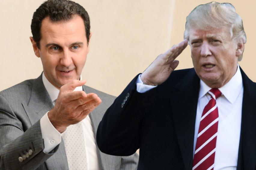Асад за американскиот претседател Трамп  Тој е обична марионета