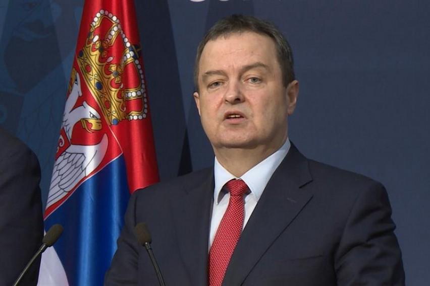 Дачиќ за големата закана за мирот  Целта им е голема Албанија  го придодадоа Ниш  утре ќе сакаат и Скопје  Улцин  Епир