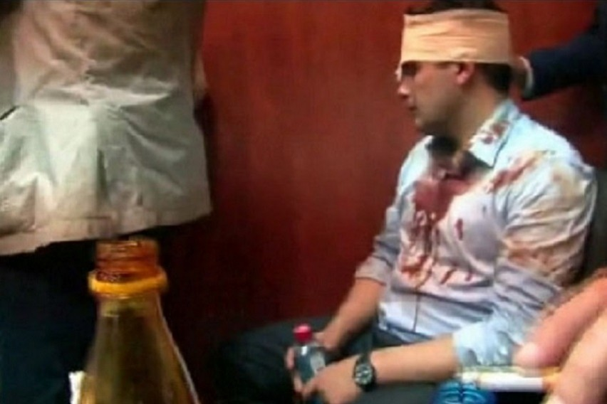 Вознемирувачко необработено 12 минутно видео  Погледнете што се случувало во Собранието по насилниот упад на демонстрантите