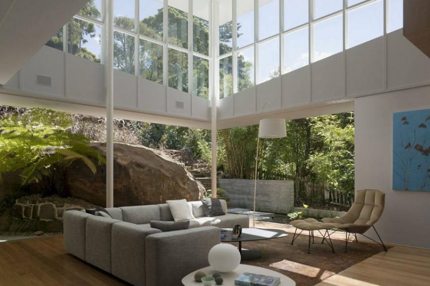 Ентериер од соништата  Преубав дом кој е во допир со природата