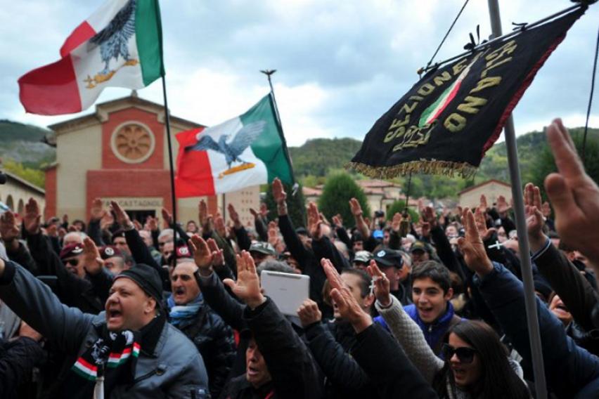 Решавање на проблемот по брза постапка  После низата на инциденти  Италија забрани употреба на фашистички и нацистички симболи