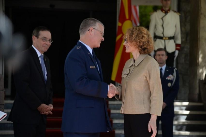 Средба Шекеринска Креј  Македонија членка на НАТО е заедничка цел
