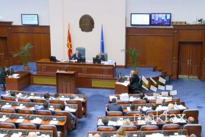 Денес во Собранието интерпелации на министрите Николовски и Царовска