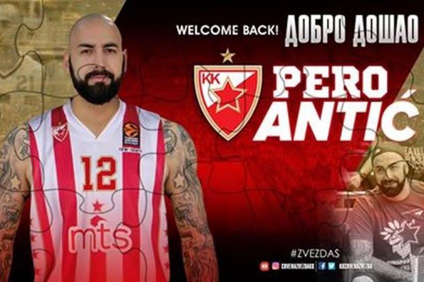 Колкава е платата на Перо Антиќ во   Црвена Звезда   Македонецот е втор најплатен играч во клубот