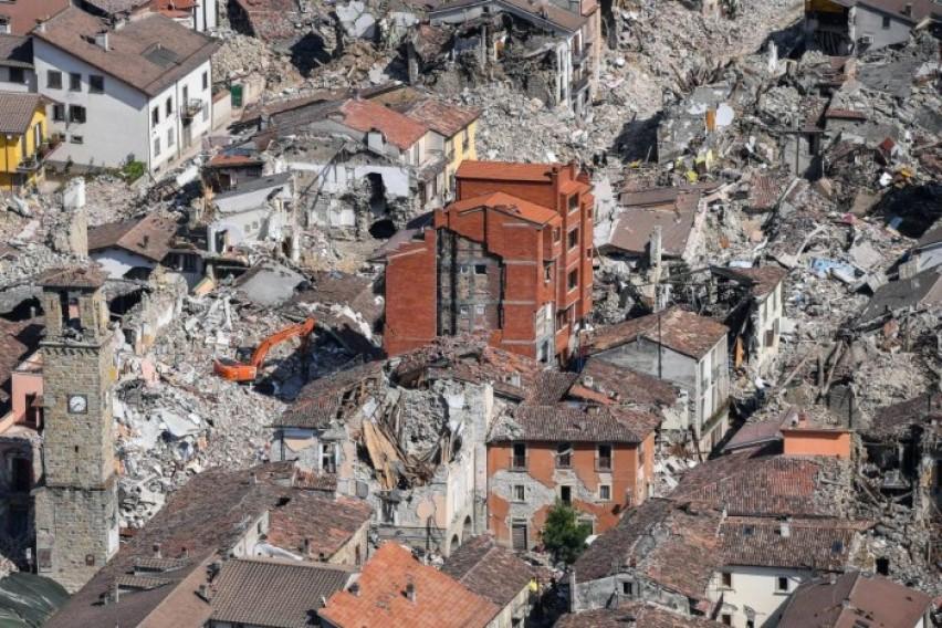 ЕУ ќе одвои 1 2 милијарда евра помош за Италија за справување со штетите од земјотресите