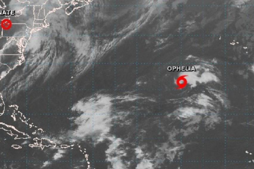 Бурата Офелија премина во ураган