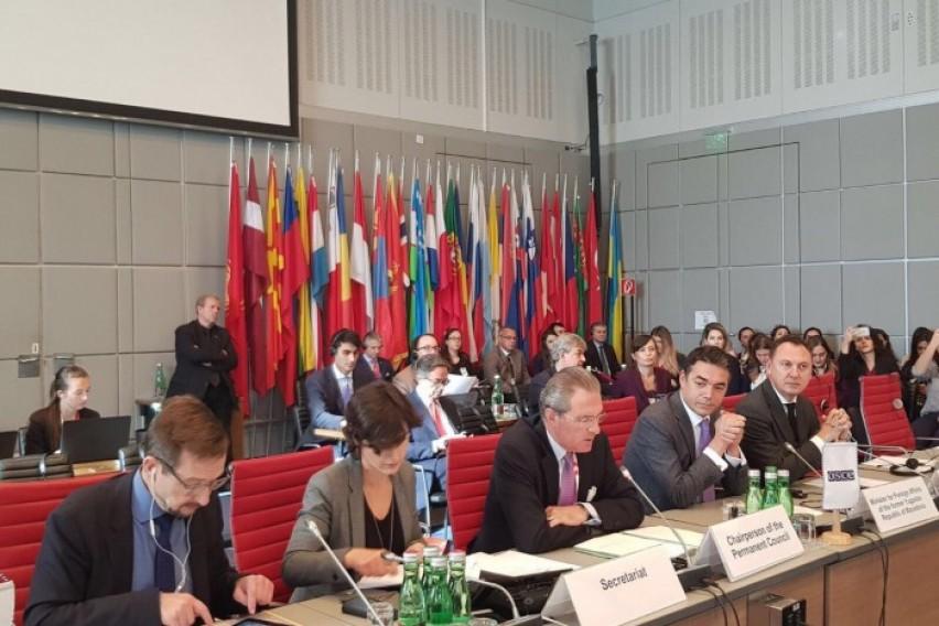 Димитров на разговори во ОБСЕ