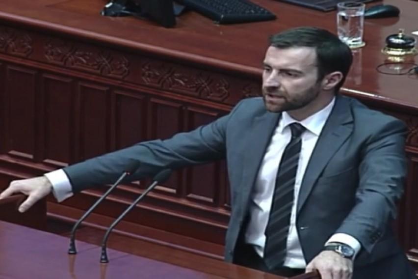 Димовски  ВМРО ДПМНЕ ќе поднесе амандмани за законот за јазици