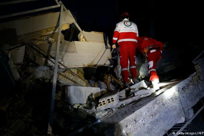 Иран  Завршија спасувачките операции по разорниот земјотрес