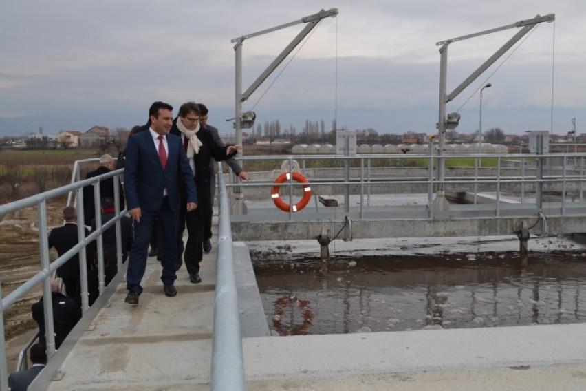 Пуштена пречистителна станица за отпадни води во Струмица