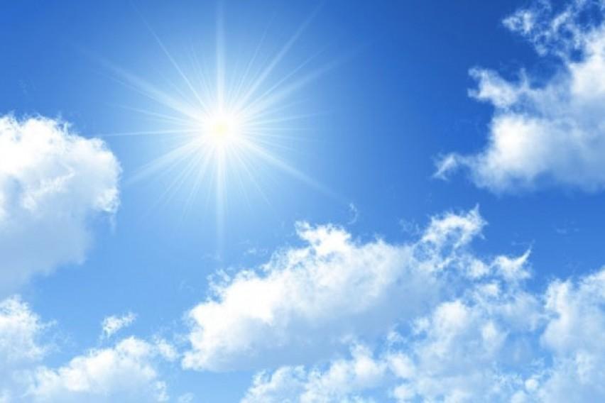 Сончево со слаб до умерен ветер