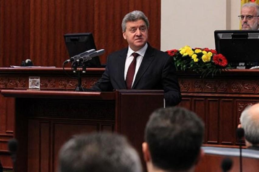 Претседателот Иванов го доби указот за Законот за јазици  но дали ќе го потпише