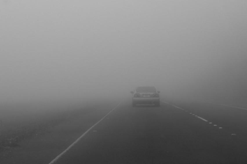 АМСМ  Влажни коловози и намалена видливост поради магла