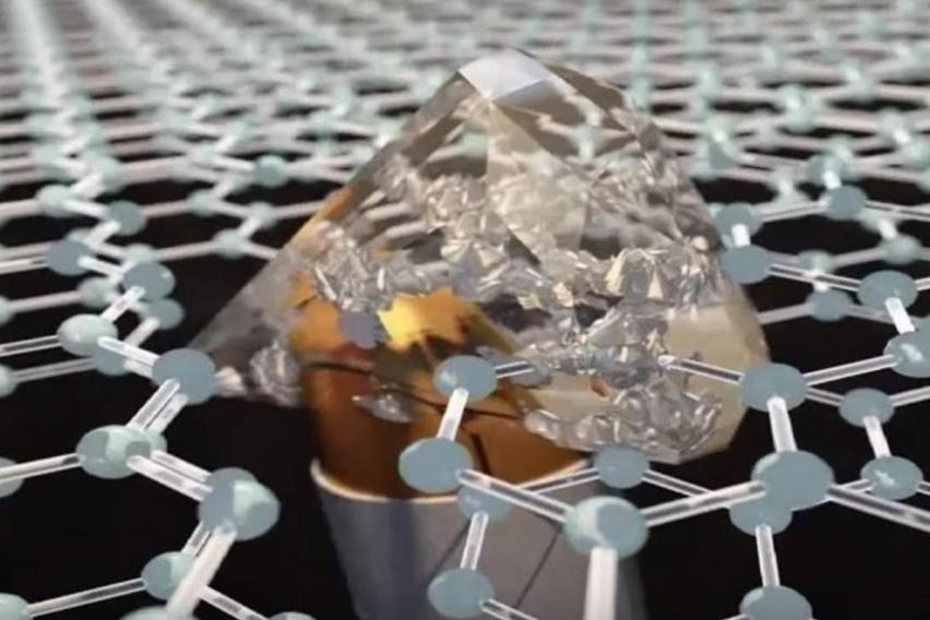 Откритие кое засекогаш ќе го промени војувањето  Материјал потенок од хартија  при удар на куршум станува поцврст од дијамант