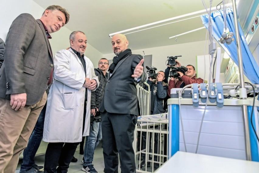 Донација на Македонски Телеком и Град Скопје за детската болница   Козле