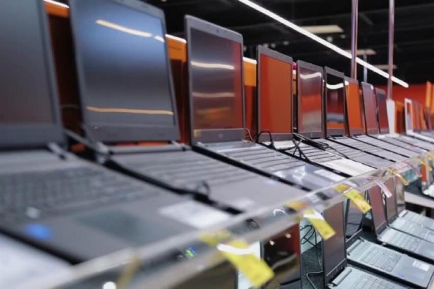 Од скопска продавница за техника украден 21 лаптоп