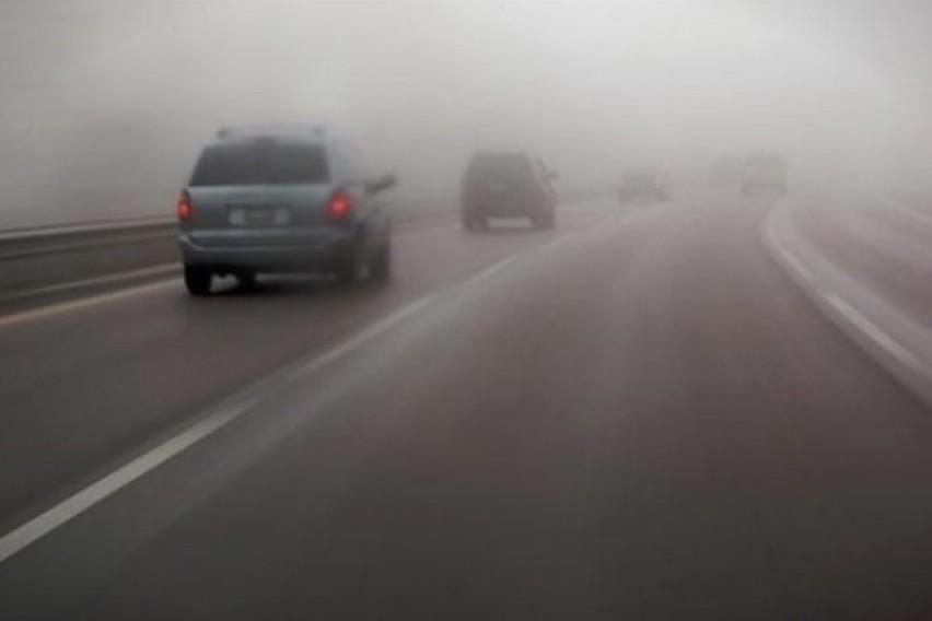 Намалена видливоста поради магла на Стража и Ѓавато