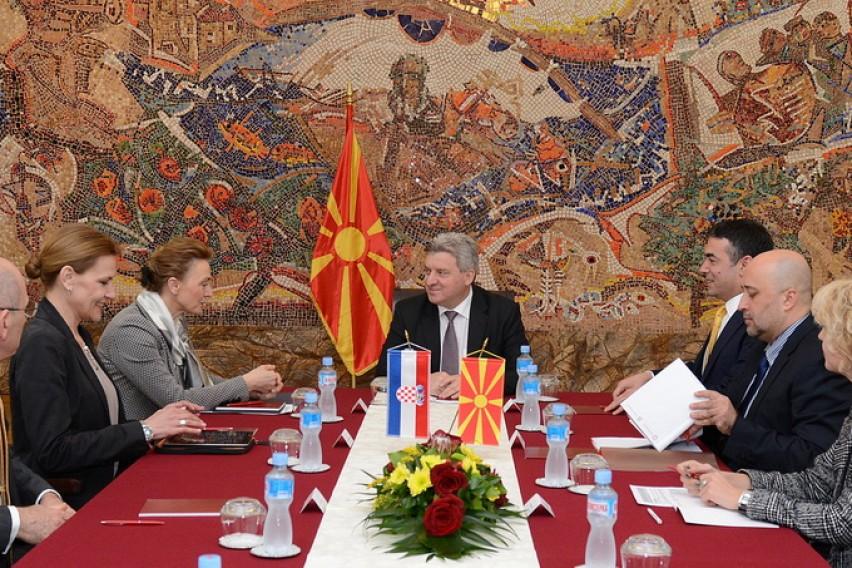 Иванов и Буриќ разговараа за унапредување на регионалната соработка