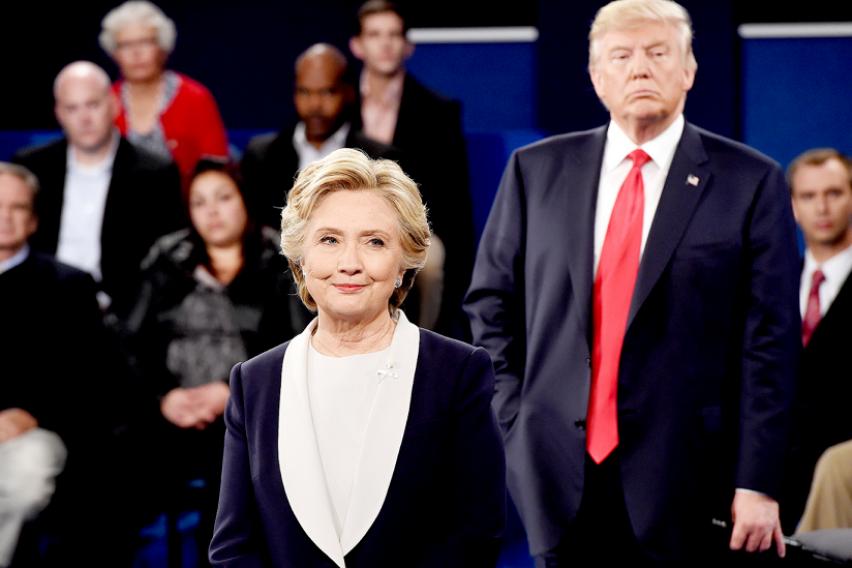 Хилари Клинтон предупредува  Ова се опасни времиња  САД не заслужува претседател како Трамп