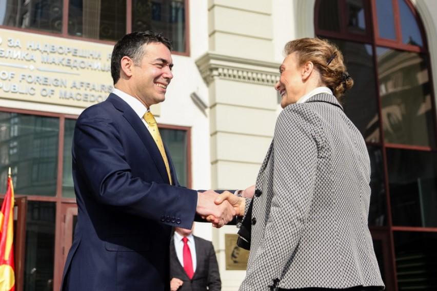 Хрватска поддршка за членство во евро атлантското семејство