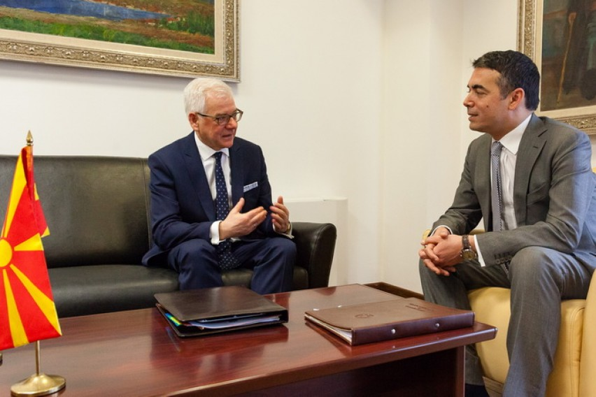 Димитров Чапутович  Полска останува лојален поддржувач на евро атлантските аспирации на Македонија