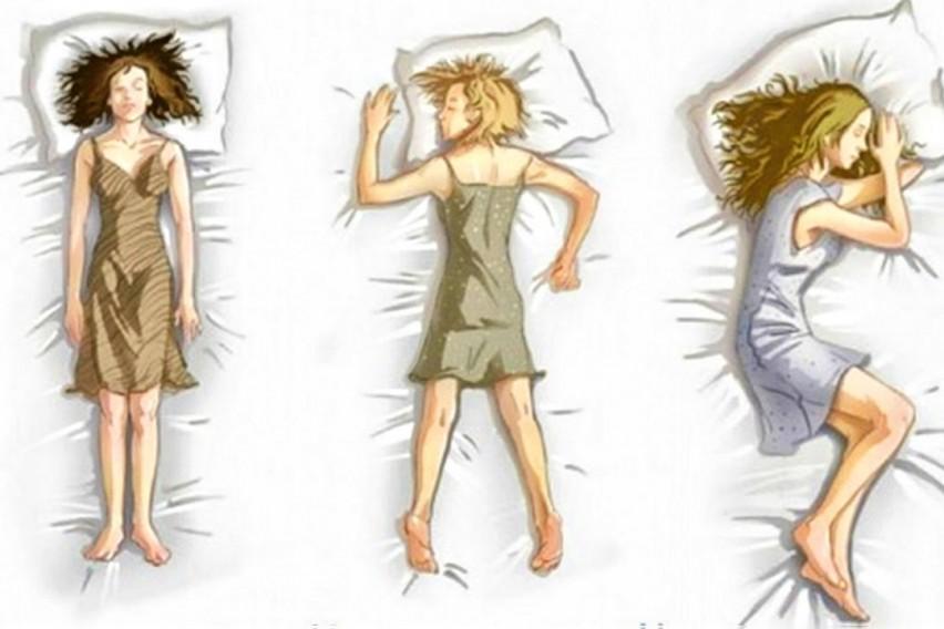Психология сна позы в картинках
