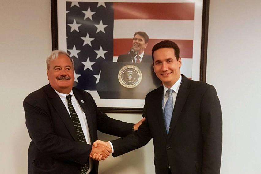 Ѓорчев на средби со Републиканската партија и ИРИ во САД