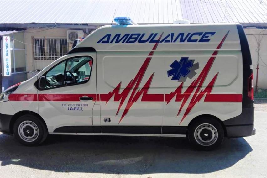 Здравствениот дом Охрид набави ново современо возило за Итната медицинска помош