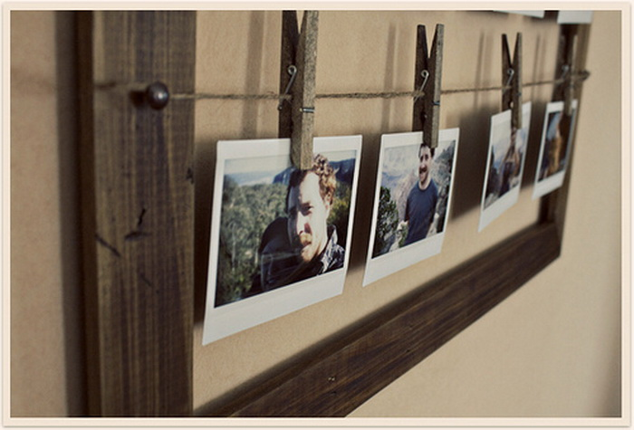 Рамки для фото оригинальные своими руками