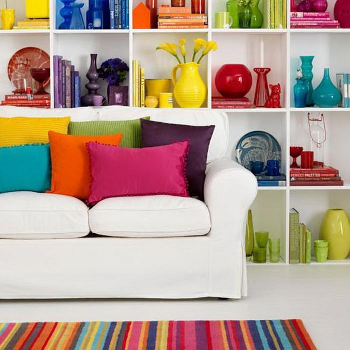 Яркие цвета дизайн